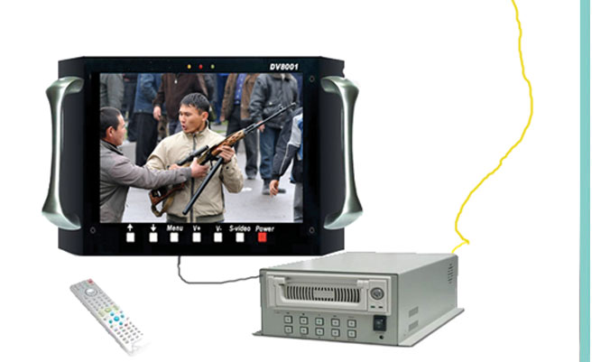 高清高帧数字监控系统