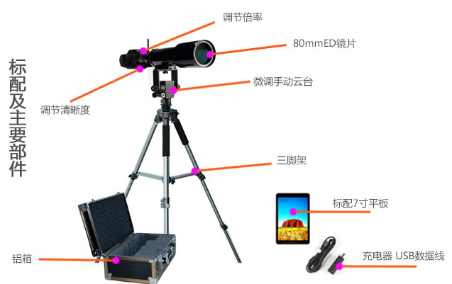 wifi望远镜标配